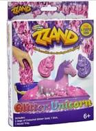ZZ + Glitter Unicorn Set with Coloured Sand + Mould Tray *Children Activity Set