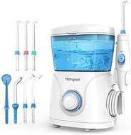 Water Flosser for Teeth,Homgeek Dental Oral Irrigator Teeth Water Jet Cleaner