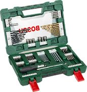 Bosch Drill and Screwdriver Bit Set with Ratchet Screwdriver and Magnetic Stick