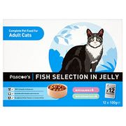 Amazon Pantry- Salmon and Ocean Fish Cat Selection in Jelly X 12 Pouches