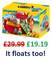 SAVE £10.80 - Playmobil - My Take Along Noah's Ark (6765)
