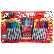 Sharpie 21 Piece Permanent Markers Special Edition - Save £7!