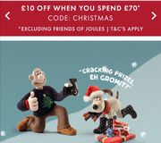 Joules Spend £70 and Get £10 Off