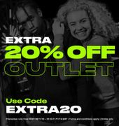 Extra 20 % off at Sports Direct Outlet with Code
