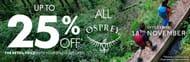Sale!!! Get up to 25% off Osprey