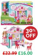 Barbie Chelsea Club Playhouse