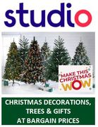 STUDIO Christmas Shop - Christmas DEALS GALORE from 14p!