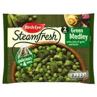 Birds Eye Steamfresh 2 Green Medley with a Hint of Garlic & Herbs 300g