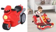 Kids' 4-in-1 Luggage Ride on Motorcycle
