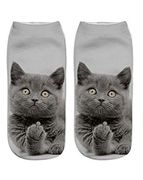 Funny Socks Cute Cat Novelty
