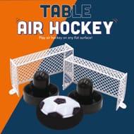 Table Air Hockey Play at Home or Any Flat Surface
