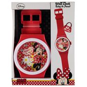 Character Wall Clock Minnie Mouse or Spiderman