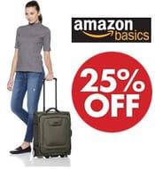 AmazonBasics Expandable Carry-on Luggage Suitcase with TSA Lock & Wheels