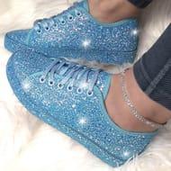 Lemonade Dizzy Sneakers Sky Blue