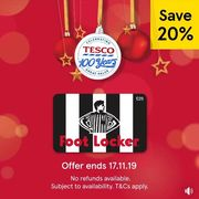 Tesco is Offering 20% off H&M, New Look & Foot Locker Gift Cards - Instore Only