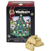 Walkers Mini Christmas Tree Shortbread Biscuits - Buy One Get One Half Price