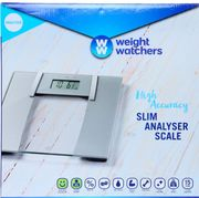 WEIGHT WATCHERS High Accuracy Slim Analyser Scale 30x32cm