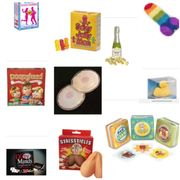 Rude and Cheeky Gifts - STRICTLY for ADULTS! 65 Items Priced £2 - £20