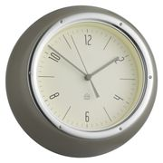 Habitat Grey Metal Wall Clock