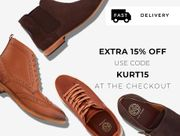 15% off Kurt Geiger Men's Shoes Orders
