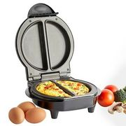 VonShef Omelette Maker Electric Non Stick Egg Fryer Pan Cooker Scrambled Omlette