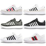 Swiss Mens LEATHER Classic Retro Trainers