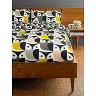 Orla Kiely House Big Owl Cotton Duvet Cover