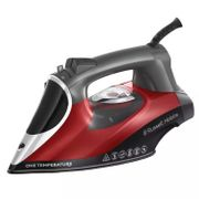 Russell Hobbs Red and Grey 'One Temperature' Steam Iron