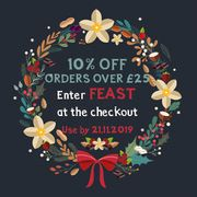 10% off Orders over £25 at Honeybuns