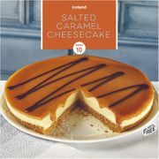 Iceland Salted Caramel Cheesecake 850g