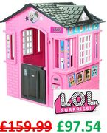 PRICE DROP! L.O.L Surprise Cottage Playhouse - by Little Tikes