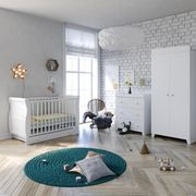 Little Acorns 6 Piece Nursery Room Set with Deluxe Foam Mattress