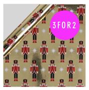 Christmas 3 for 2 Wrapping Paper at Paperchase