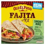 Old El Paso Original Smoky BBQ Sizzling Fajita Dinner Kit 500g - Save £0.75!
