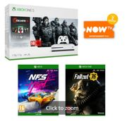 1TB XBOX ONE S with GEARS 5+NEED for SPEED HEAT+FALLOUT 76 Only £284