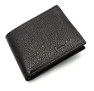 Mens Rfid Blocking Designer Quality Real Leather Wallet Credit Card Holder Purse