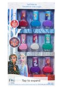 DISNEY FROZEN Eight Pack Nail Polish Set 26x15x2cm
