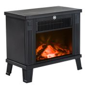 HOMCOM Freestanding Electric Fireplace Heater Extra 11% off Code : FLASH11