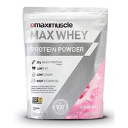20% off Max Whey Protein Powder Pack