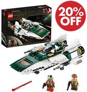 20% off & FREE DELIVERY - LEGO Star Wars, Resistance A-Wing Starfighter (75248)