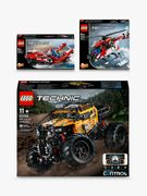 LEGO Technic 4x4 X-Treme Off-Roader Rescue Helicopter & 2-in-1 Power Boat Bundle