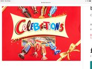 Celebrations Chocolate Gift Box 320g 2 Boxes £5