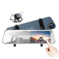 "5"" LCD Rear View Mirror Camera Ultra-Thin Touch Screen Full HD 1080P"