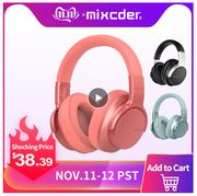 Mixcder E7 Wireless Headphones Active Noise Cancelling Bluetooth Headphone V5.0
