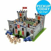 Chad Valley Knights Wooden Castle Playset Free Click and Collect from Argos