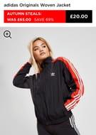 Adidas Originals Woven Jacket Size 16