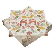 Woodland Paper Napkins Pack of 50