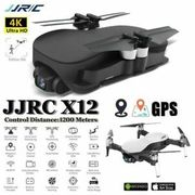 JJRC X12 GPS Drone with 5G Wifi FPV 4K HD Camera Brushless 3-Axis Gimbal Drone
