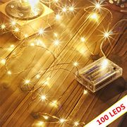 Led String Lights 100 LEDs Decorative Fairy Battery Powered String Lights