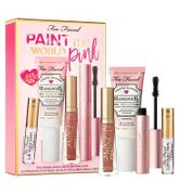 Too Faced Paint the World Pink Gift Set